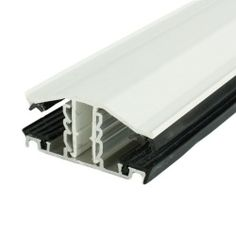 These white rafter supported snap down PVCu top cap glazing bars are designed to secure PVC sheets to their suitable applications. Conservatory Roof, Lean To, Canopy, Glaze, Office Supplies, Bar, Garden, Design, Enamel