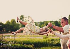 Childrens Photos/ Kids Pictures / 2 year old photos / Giggles / Pigtails / Swing / Swinging/ /Stalzer Photography