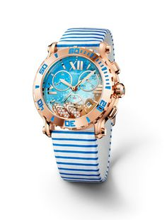 new chopard watch happy beach