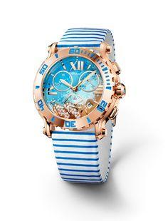 new chopard watch happy beach