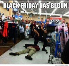 Working Black Friday Meme