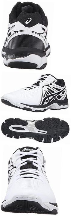 Clothing 159130: Men S Gel-Netburner Ballistic Mt Volleyball Shoe, White Black Silver, 7 M Us -> BUY IT NOW ONLY: $137.48 on eBay!