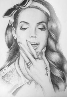 Lana del rey sketch <3