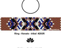 peyote ring pattern,PDF-Download, #293R, beaded ring pattern, beading tutorials, ring pattern