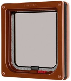Cat Mate Lockable Cat Flap Brown * You can find more details by visiting the image link.