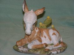 Vintage Discontinued Burro by Homco Masterpiece by parkie2 on Etsy, $27.95