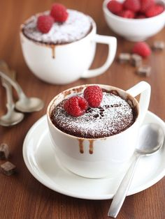 Two Minute Chocolate Mug Cake /  Completely Delicious