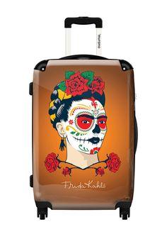 Frida Kahlo Hard Case Luggage by ikase on @HauteLook