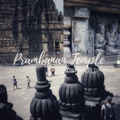 """One of the most treasured and visited locations in Indonesia is a temple which holds a rich history and a thriving expression of culture; the Prambanan Temple, or also known as the Roro Jonggrang Temple in Indonesia, or also the """"Temple of the Slender Virgin"""" is located in Yogyakarta. It is a temple that was built during the 9th century, which holds a mystical charm that entices its visitors and gives such an exotic atmosphere.  are for Shiva, Vishnu and Brahma. City C, Capital City, Bus Travel, Time Travel, List Of Airlines, Bandung City, Jakarta City, Borobudur Temple, Yogyakarta"""