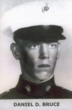 Virtual Vietnam Veterans Wall of Faces | DANIEL D BRUCE | MARINE CORPS