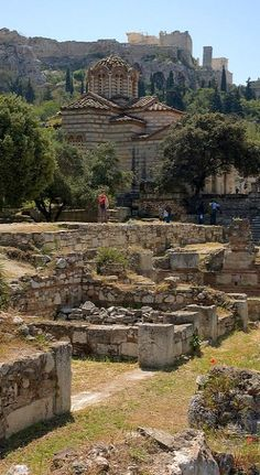 Ancient Agora ~ Areopagos Hill, Athens, Greece Photo by  Dmitry Shakin
