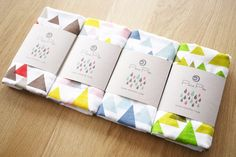 Would be very easy to create this pretty but simple packaging