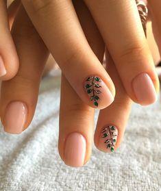 nail art designs for very short nails 2018 Orange Nail Designs, Elegant Nail Designs, Pretty Nail Designs, Elegant Nails, Classy Nails, Nail Art Designs, Gel Polish Designs, Pedicure Designs, Simple Nails