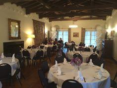 Inside reception at the #kellogghouse #reception #celebration