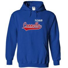 Team Connelly - #gift box #mason jar gift. BUY-TODAY  => https://www.sunfrog.com/Names/Team-Connelly-ansppeqniy-RoyalBlue-20074772-Hoodie.html?id=60505