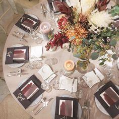 TRUNK BY SHOTO GALLERYさんはInstagramを利用しています:「#TRUNKBYSHOTOGALLERY #TRUNKwedding #TRUNK花嫁 #結婚式 #結婚式準備 #ウェディング #ウェディングドレス #ウェディングブーケ #ゲストテーブル#テーブルセット #テーブルセッティング #テーブルコーディネート #席札 #メニュー表…」 Flower Decorations, Wedding Decorations, Table Decorations, Autumn Wedding, Our Wedding, Space Wedding, Wedding Table Settings, Table Flowers, Wedding Coordinator