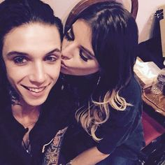 andy biersack and juliet simms <3