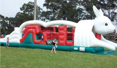 #Kids enjoy jumping castle #hire #Sydney a lot. It's really not surprising when we see kids having too much fun when they jump on bed or trampoline.