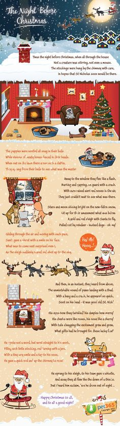 The Night Before Christmas, According to Dogs at BaxterBoo