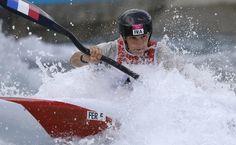 Emilie Fer - Canoeing - London 2012 - Womens Kayak Slalom