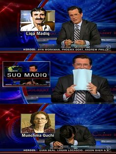 The World Of Stephen Colbert part 2 / 25 pics) - Seriously, For Real?