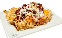 BAKED CHEESE FRIES WITH BACON | Ledo Pizza