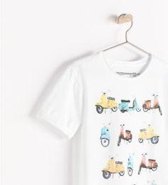 Image 4 of MOTORBIKE T-SHIRT from Zara