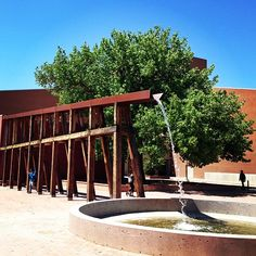 Black_steele shared on Instagram this #NMTrueHeritage photo of the National Hispanic Cultural Center in Albuquerque.
