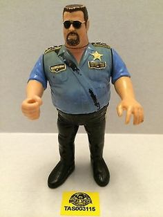 WWE WWF WCW NWO LJN Hasbro Wrestling Figure - The Big Boss Man This item is NOT in Mint Condition and is in no way being described as Mint or even Near Mint. Our toys have not always lead the perfect Big Boss Man, Wwe Tna, Vintage Toys, Wrestling, Action Figures, Cartoons, Mint, Posters, Classic