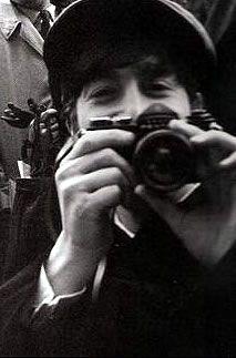 John Lennon with Pentax
