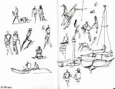 Bentnibs #oneweek100people2017 Day 5 urban sketches