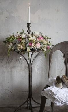 Ana Rosa: Photo ~ Awesome candle stand