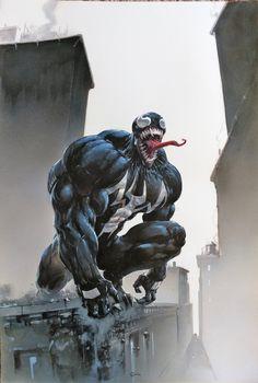 Venom #5 Variant Cover Comic Art   Marvel Comics, Spiderman Villains, Geek