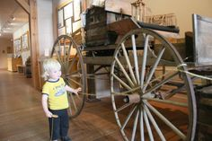 Enjoy Oregon's rich pioneering past with your kids at the End of the Oregon Trail Interpretive Center.