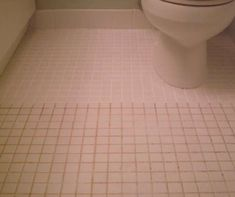 Mix 7 cups water, 1/2 cup baking soda, 1/3 cup lemon juice and 1/4 cup vinegar. Spray the concoction onto the dirty grout, let sit, and scrub with a brush! by ^ kristen ^