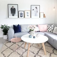 Getting Bored With Your Home? Use These Interior Planning Ideas – Lastest Home Design Living Room Grey, Living Room Decor, Room Inspiration, Interior Inspiration, Beautiful Living Rooms, Decoration, Living Room Designs, Sofas, Family Room
