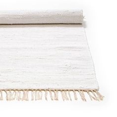 Soft Scandinavian Rag Rug made of 100% cotton.Please note that this is product is handmade and therefor a there might be a slight difference in colour.Handmade Scandinavian rag rug 'trasmatta' in a high quality, soft yet sturdy. This fabulous rug is perfect for the kids room (and not only), as it is machine washable, soft to sit on when playing and adding a colourful touch to the floor. The ideal addition to get the perfect Scandinavian touch to the room.<em>- Handwoven in India from ...
