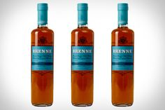 Brenne Whiskey, a Single Malt Whiskey from France aged in Limousin Oak and finished in Cognac Casks