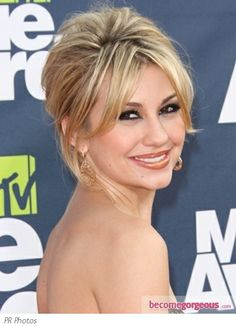 Pictures : 2011 MTV Movie Awards Hairstyles - Chelsea Kane Updo 2011 MTV Movie Awards