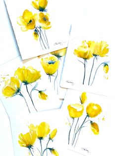 Illuminating Yellow Art Release | Laura Trevey Original Watercolors