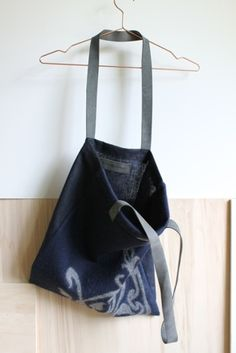 MERINO WOOL FELTED HANDLE BAG from Grotkop Collection