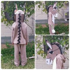 Wonky donkey costume for book week.