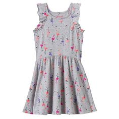 Jumping Beans Flamingo Dress