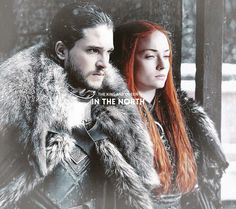 "Jon & Sansa: ""Long may they reign."" (GoT S7)"