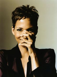 Halle Berry (born Maria Halle Berry), American actress & model. She is the 1st & currently only Black woman to win an Academy Award for Best Actress, in Monster's Ball. She is the 3rd African-American woman to star as a Bond Girl, in Die Another Day. She has starred in Jungle Fever, Boomerang, Introducing Dorothy Dandridge, Strictly Business, Bulworth, the X-Men film series, Catwoman, Why Do Fools Fall in Love, Gothika, & Cloud Atlas. She is also a Revlon spokesmodel. She is engaged to…