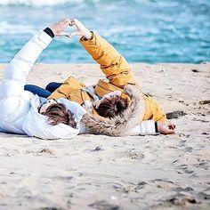 ; Nam Joo Hyuk and Lee Sung Kyung