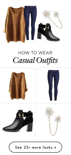 """""""Untitled #1940"""" by jem0kingston on Polyvore featuring Nadri, Levi's and Ted Baker"""