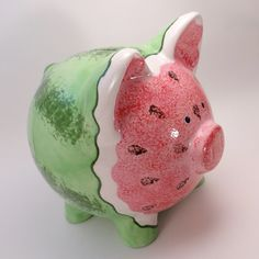 Sparschwein  personalisierte Keramik Sparschwein  von ThePigPen