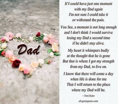 Poem I wrote for my dad. Love you dad Funeral poem ...