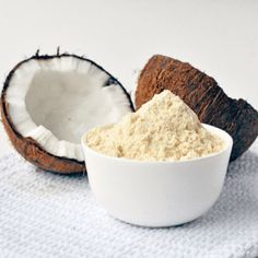 Where can I get coconut flour Singapore? Gluten free coconut flour, a healthy substitute of regular flour. Where can I buy coconut flour? Coconut Flour Nutrition, Cooking With Coconut Flour, Pasta Nutrition, Cheese Nutrition, Nutrition Store, Paleo Diet Food List, Diet Recipes, Healthy Recipes, Healthy Fats